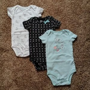 Three piece set onesie